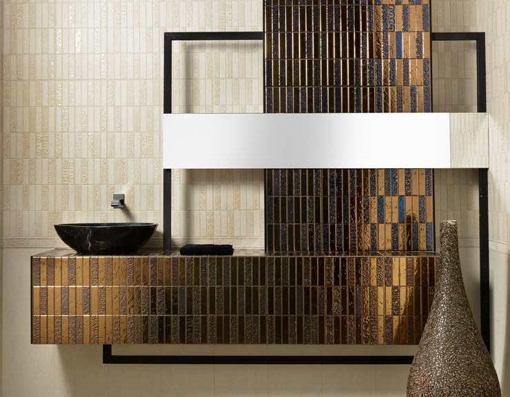 Stenske ploščice v kopalnici
