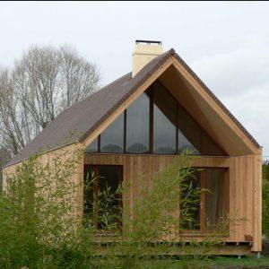 Lesena hiša na gorenjskem